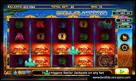 Lightning Box Games features Stellar Serengeti Lions slots