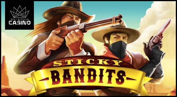 Quickspin's New Sticky Bandits Slots Feature Huge Wilds