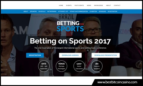 Betting on Sports 2017 Conference happens on Sept. 13 at Olympia London