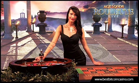 Playtech launches Age of the Gods Live Roulette