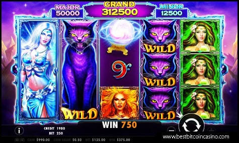 Wild Spells slots game from Pragmatic Play