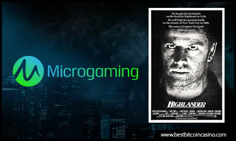 Play Highlander from Microgaming