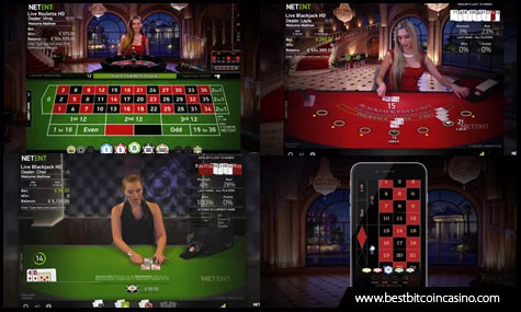 NetEnt Live features improved live dealer games for all platforms