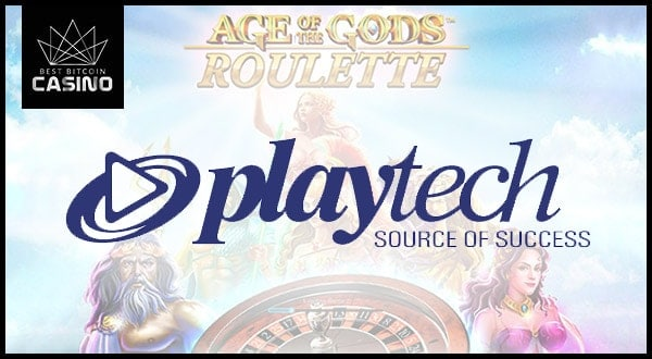 New Playtech Roulette Links to Age of the Gods Jackpot