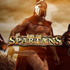 Age of Spartans Slots Logo