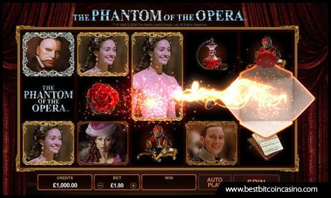 Microgaming releases The Phantom of the Opera Slots