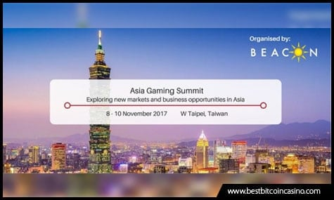 Asia Gaming Summit Taiwan 2017 runs from Nov. 8-10