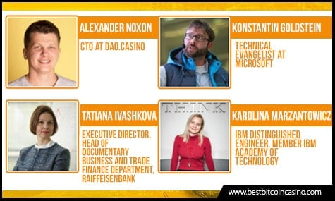 Industry experts to talk in Blockchain & Bitcoin Conference Moscow 2017