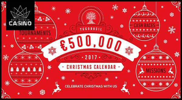 Yggdrasil Christmas Calendar 2017 Brings Cheers to Casinos