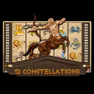 12 Constellations Slots Logo