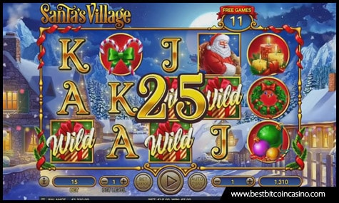Habanero launches Santa's Village slot