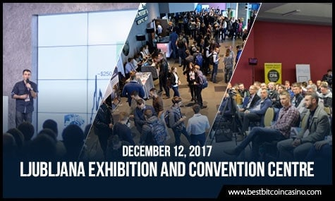 Blockchain & Bitcoin Conference Slovenia | Ljubljana Exhibition and Convention Centre | December 12, 2017