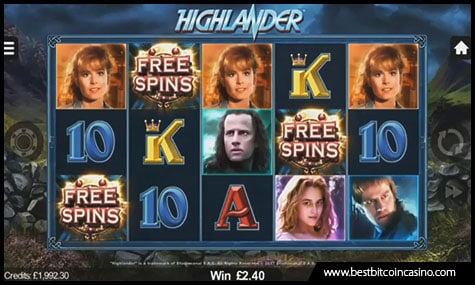 Microgaming launched Highlander slot