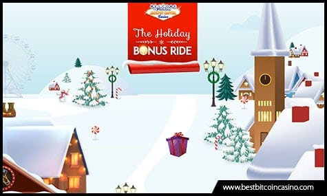 Jackpot Capital Casino presents Holiday Bonus Ride promo