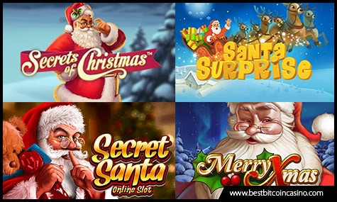Choose from These Santa Claus-Themed Slots