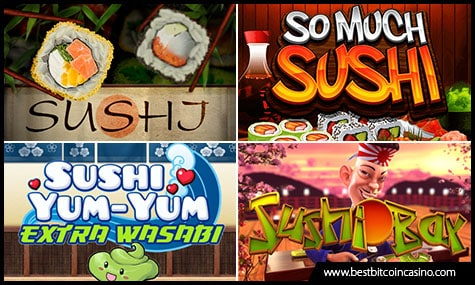 Sushi-Themed Slots in Bitcoin Casinos
