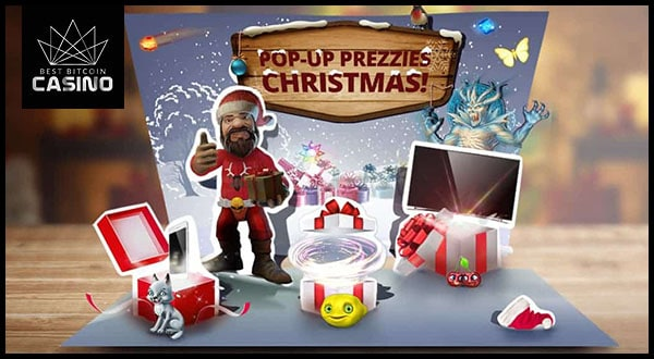 Pop-Up Prezzies Xmas Promo Gives Away Massive Prizes