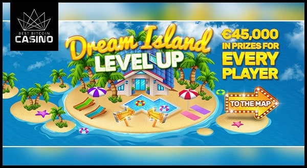 BitStarz Dream Island Giveaway Has €45,000 Prize Pools