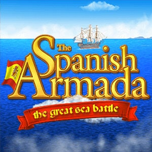 The Spanish Armada Slot Logo