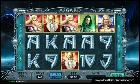 Realtime Gaming Releases Asgard Slot