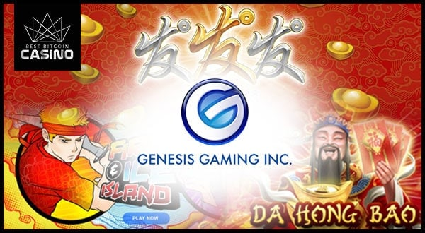 Genesis Gaming Releases 3 New Asian-Themed Slots