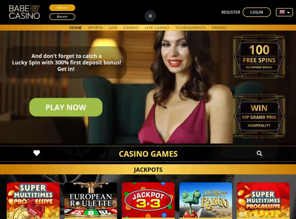 Babe Casino Screenshot