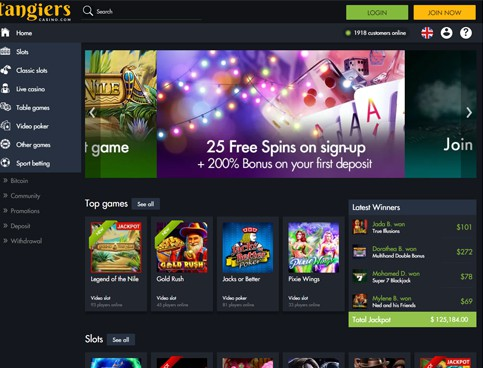 tangiers casino online review