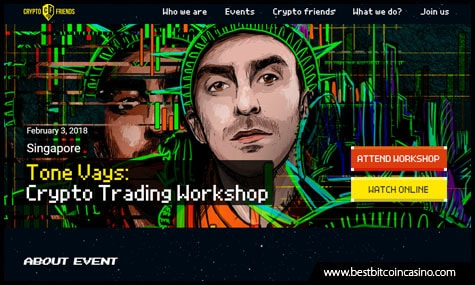 Crypto Trading Workshop at Fullerton Bay Hotel