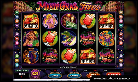 Mardi Gras Fever Slot by Microgaming