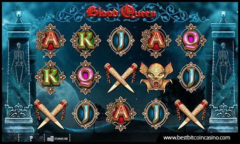 Blood Queen Slot by Iron Dog Studio