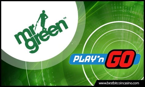 Mr Green Casino and Play'n GO Teams Up