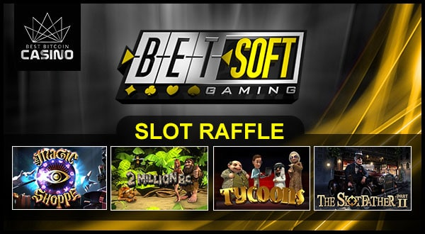 Lucky Players Will Win up to $1,000 in Betsoft Slot Raffle