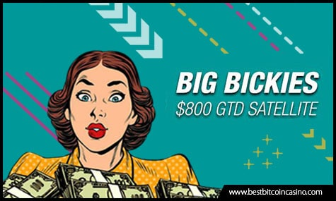 Chance to Win US$800 from Big Bickies GTD tournament with at least $1 Buy-in
