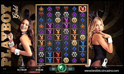 Microgaming Releases Playboy Gold Slot