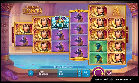 Legend of Cleopatra by Playson
