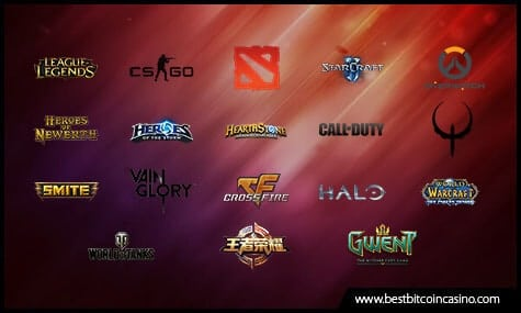 Esports Games Covered by UltraPlay