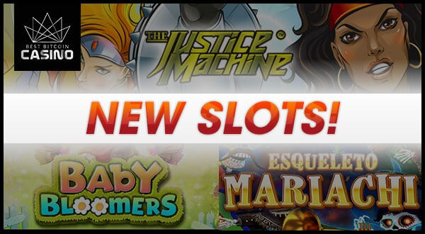 3 New Slot Games to Play Over the Weekend