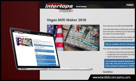 Vegas Milli Maker 2018 on Intertops Poker