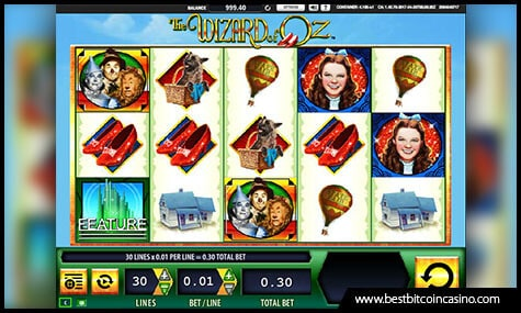 Wizard of Oz Slot by WMS Gaming