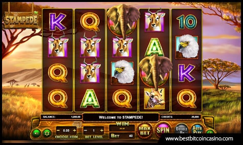 Stampede Slot by Betsoft Gaming
