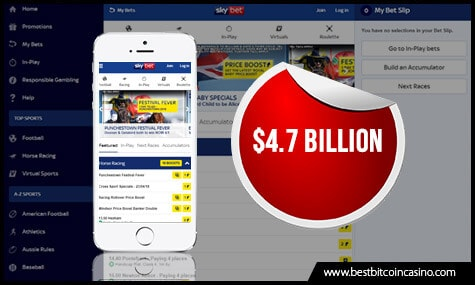 Sky Betting & Gaming Sold to The Stars Group for $4.7B
