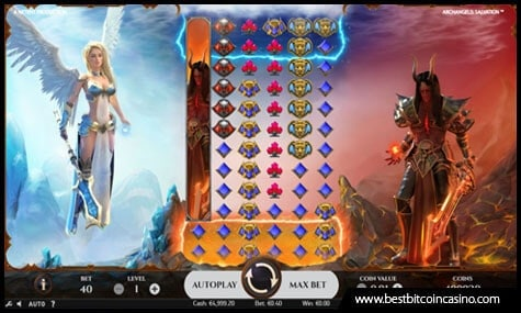 Archangels: Salvation Slot by NetEnt