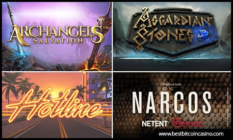 New Online Slots from NetEnt