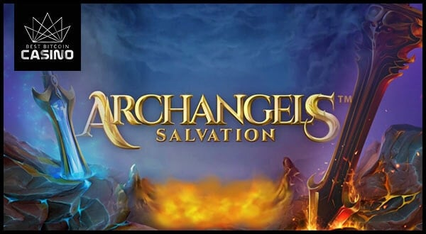NetEnt Unleashes Archangels: Salvation with 4 Hot Features