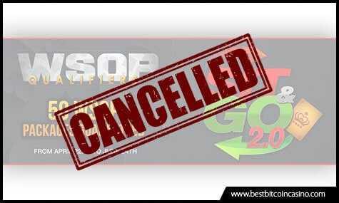 Americas Cardroom Cancelled Promos and Tournaments