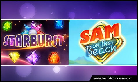Starburst Slot and Sam on the Beach Slot