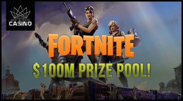 Fornite Esports Launches with $100 Million Prize Pool