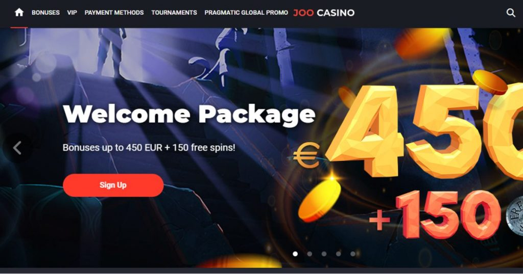 Joo Casino Screenshot