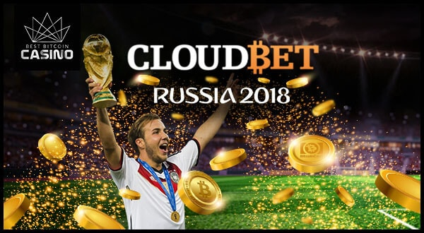 Cloudbet Offers Max Bets of 100BTC for World Cup