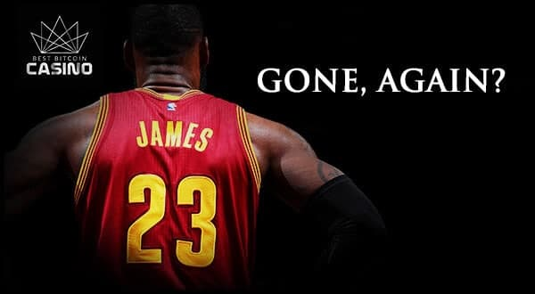 Gone Again? Bookmakers Favor LeBron James Leaving the Cavs